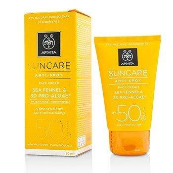 Apivita Crema Facial Cuidado Solar Anti-Manchas SPF 50  50ml
