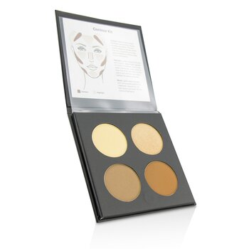 Glo Skin Beauty Contour Kit - # Medium To Dark  13.2g/0.46oz