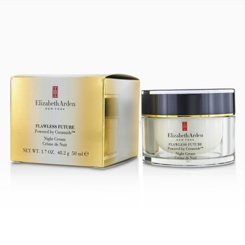 Elizabeth Arden Flawless Future Powered by Ceramide Crema de Noche  -