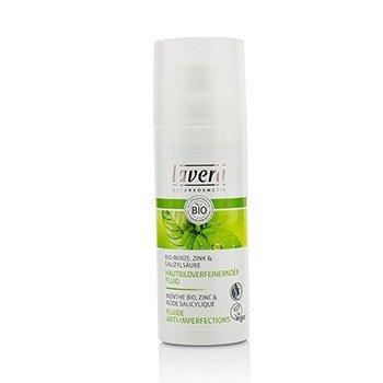 Lavera Organic Mint Pore Refining Moisturising Fluid (Unboxed)  50ml/1.6oz