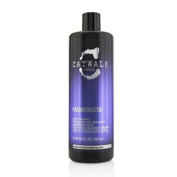 Tigi Catwalk Fashionista Violet Shampoo (For Blondes and Highlights)  750ml/25.36oz
