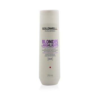 Goldwell Dual Senses Blondes & Highlights Anti-Yellow Shampoo (Luminosity For Blonde Hair)  250ml/8.4oz