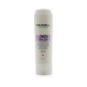 Goldwell Dual Senses Blondes & Highlights Acondicionador Anti-Amarillo (Luminosidad Para Cabello Rubio)  200ml/6.8oz