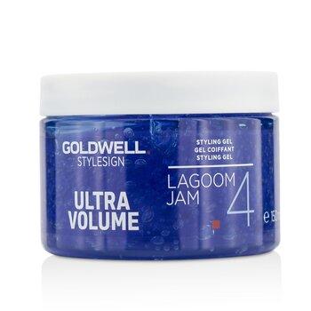 Goldwell Style Sign Ultra Volume Lagoom Jam 4 Styling Gel  150ml/5oz