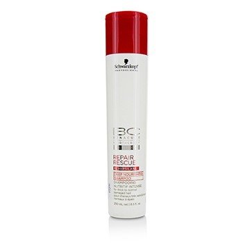 Schwarzkopf BC Repair Rescue Reversilane Deep Nourishing Shampoo (For Thick to Normal Damaged Hair)  250ml/8.5oz