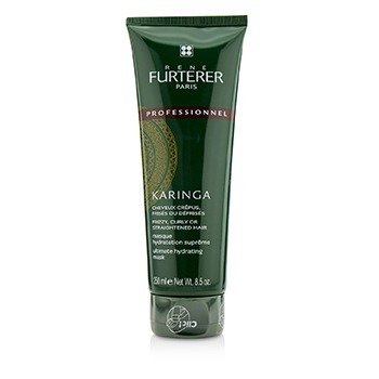 Rene Furterer Karinga Ultimate Hydrating Mask (Frizzy, Curly or Straightened Hair)  250ml/8.4oz