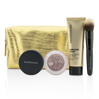 BareMinerals Set Take Me With You Complexion Rescue Try Me - # 02 Vanilla  3pcs+1bag