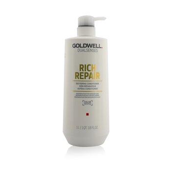 Goldwell Dual Senses Rich Repair Acondicionador Restaurador (Regeneración Para Cabello Dañado)  1000ml/33.8oz