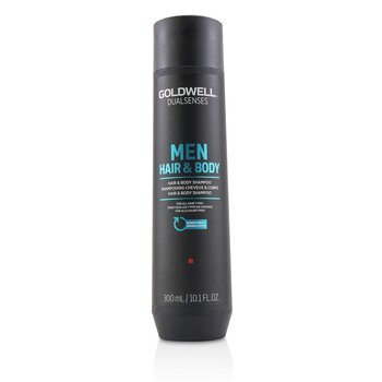 Goldwell Dual Senses Men Hair & Body Shampoo (For All Hair Types)  300ml/10.1oz