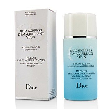 Christian Dior Instant Eye Makeup Remover (Duo Express) (Without Cellophane)  125ml/4.2oz
