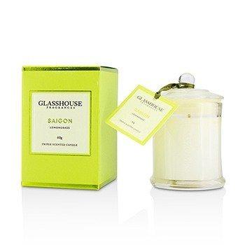 Glasshouse Triple Scented Candle - Saigon (Lemongrass)  60g
