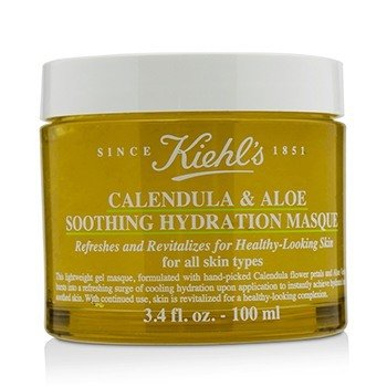 キールズ Calendula & Aloe Soothing Hydration Masque - For All Skin Types  100ml/3.4oz