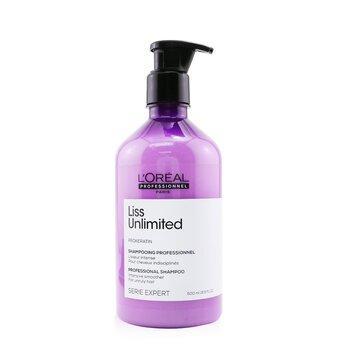 ロレアル Professionnel Serie Expert - Liss Unlimited Prokeratin Intense Smoothing Shampoo  500ml/16.9oz