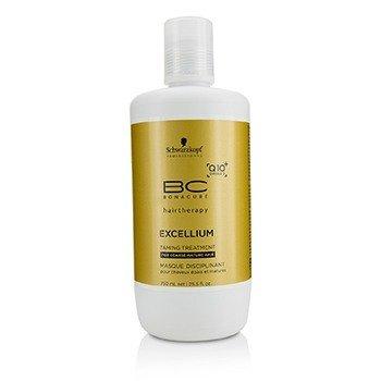 Schwarzkopf BC Excellium Q10+ Omega 3 Taming Treatment (For Coarse Mature Hair)  750ml/25.5oz