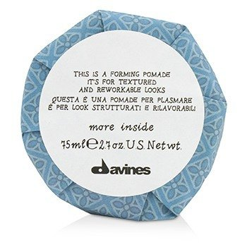Davines More Inside This Is A Forming Pomade (For Textured and Reworkable Looks)  75ml/2.7oz