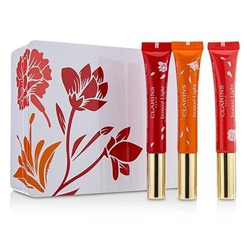Clarins Instant Light Perfeccionante de Labios Natural Trio (Edición Limitada)  3pcs