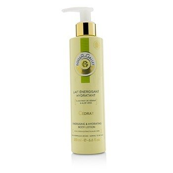 Roger & Gallet Cedrat (Citron) Energising & Hydrating Body Lotion (with Pump)  200ml/6.6oz