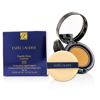 Estee Lauder Double Wear Cojín BB Compacto Líquido Uso de Todo el Día SPF 50 - # 1N2 Ecru  12g/0.42oz