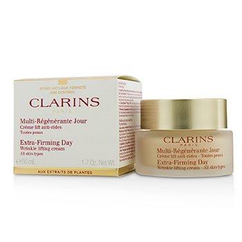 Clarins Crema Reafirmante Extra de Arrugas - Para Todo Tipo de Piel (Caja Ligeramente Dañada)  50ml/1.7oz