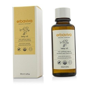 Erbaviva Baby Oil  120ml/4oz