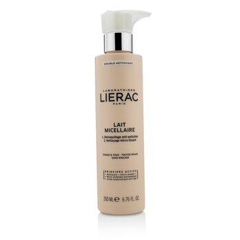 Lierac Double Nettoyant Lait Micellaire Micellar Milk Double Cleanser  200ml/6.76oz