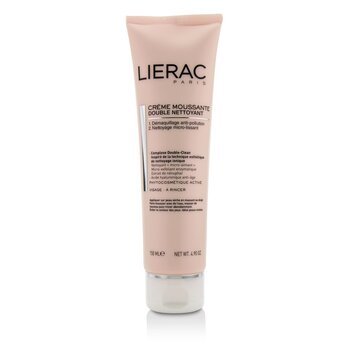 Lierac Double Nettoyant Creme Moussante Foaming Cream Double Cleanser  150ml/4.9oz