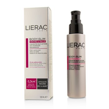 Lierac Body-Slim Multi-Action Concentrate Against Unwanted Abdominal Curves For Stomach & Waist  100ml/3.4oz