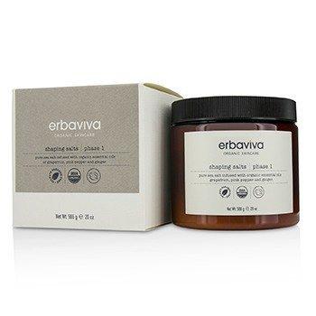 Erbaviva Shaping Salt : Phase 1 - Pure Sea Salt Infused With Organic Essential Oils Of Grapefruit, Pink Pepper & Ginger  566g/20oz