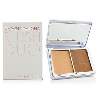 Natasha Denona Blush Duo - # 07 (02 Toutou & 01 Neutral Beige)  2x7g/0.25oz