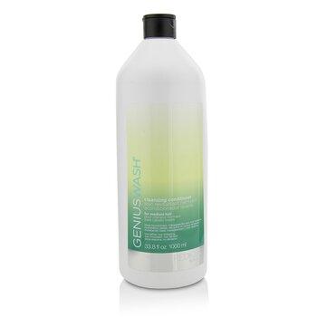 Redken Genius Wash Cleansing Conditioner (For Medium Hair)  1000ml/33.8oz