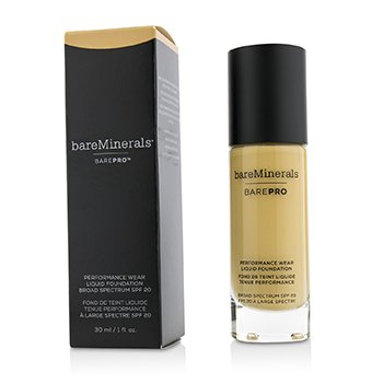 ベアミネラル BarePro Performance Wear Liquid Foundation SPF20 - # 13 Golden Nude  30ml/1oz