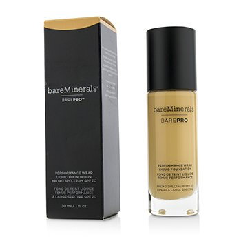 ベアミネラル BarePro Performance Wear Liquid Foundation SPF20 - # 14 Silk  30ml/1oz