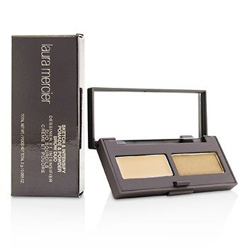 Laura Mercier Sketch & Intensify Pomade And Powder Brow Duo - Blonde  2g/0.065oz