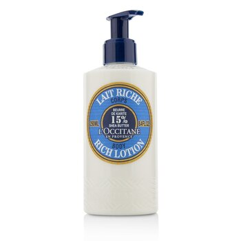 L'Occitane Shea Butter Rich Body Lotion  250ml/8.4oz