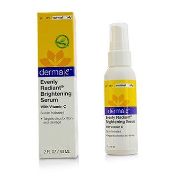 Derma E Evenly Radiant Brightening Serum  60ml/2oz