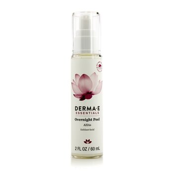 Derma E Essentials Overnight Peel  60ml/2oz
