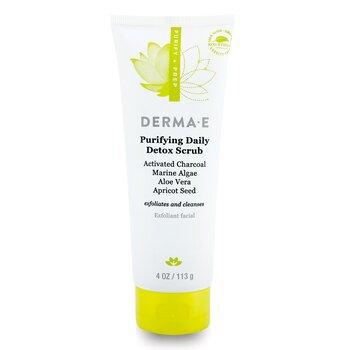 Derma E Purifying Daily Detox Scrub  113g/4oz