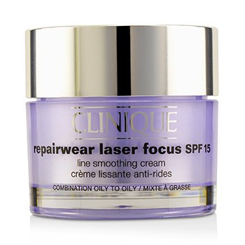 クリニーク Repairwear Laser Focus Line Smoothing Cream SPF 15 - Combination Oily To Oily  50ml/1.7oz
