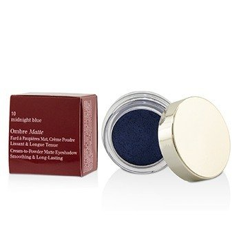 Clarins Ombre Matte Eyeshadow - #10 Midnight Blue  7g/0.2oz
