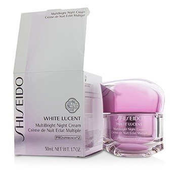 Shiseido White Lucent MultiBright Night Cream (Box Slightly Damaged)  50ml/1.7oz