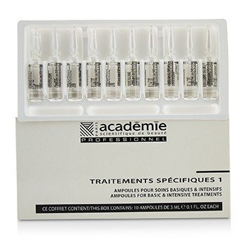 Academie Specific Treatments 1 Ampoules Integral Cells Extracts - Salon Product  10x3ml/0.1oz