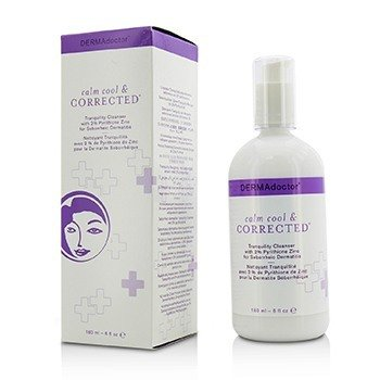 DERMAdoctor Calm Cool & Corrected Tranquility Cleanser (Exp. Date: 04/2018)  180ml/6oz