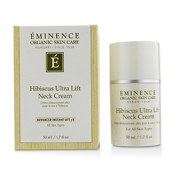 Eminence Hibiscus Ultra Lift Crema de Cuello  50ml/1.7oz