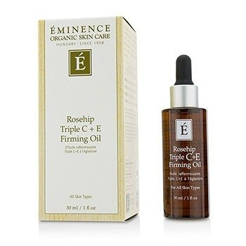 Eminence Rosehip Triple C+E Firming Oil  30ml/1oz