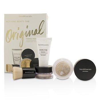 BareMinerals Kit Get Started Base Mineral - # 07 Golden Ivory  4pcs
