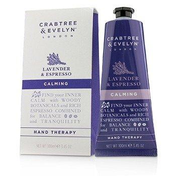 Crabtree & Evelyn Lavender & Espresso Terapia de Manos Calmante  100ml/3.45oz