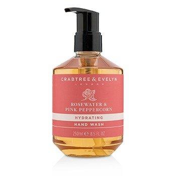Crabtree & Evelyn Rosewater & Pink Peppercorn Jabón de Manos Hidratante  250ml/8.5oz