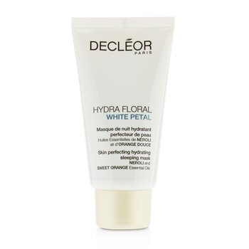 Decleor Hydra Floral White Petal Neroli & Sweet Orange Skin Perfecting Hydrating Sleeping Mask  50ml/1.7oz