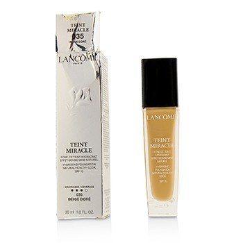 Lancome Teint Miracle Hydrating Foundation Natural Healthy Look SPF 15 - # 035 Beige Dore (Box Slightly Damaged)  30ml/1oz