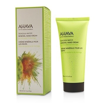 Ahava Deadsea Water Crema de Manos Mineral - Prickly Pear & Moringa  100ml/3.4oz